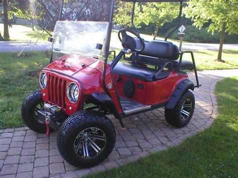 Jeep Golf Cart Jeep Golf Cart Stuff My Would Like