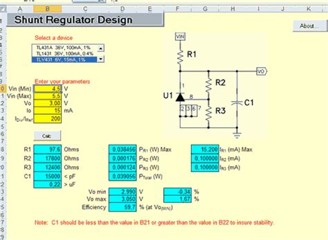 shunt resistor exle resistor color code calculator excel