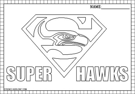 coloring pages football seahawks seattle seahawks free coloring pages huddlenet