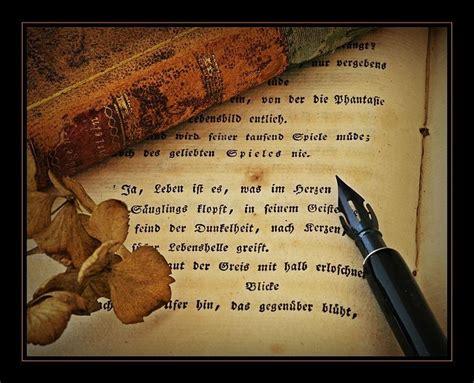 Mit Feder Und Schrift 5227 by Stille Poesie Still View Fotocommunity