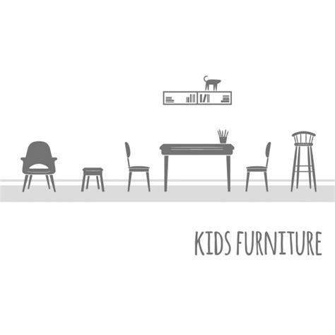 logo bench furniture vector free download