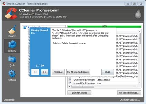 ccleaner yes or no piriform registry cleaning