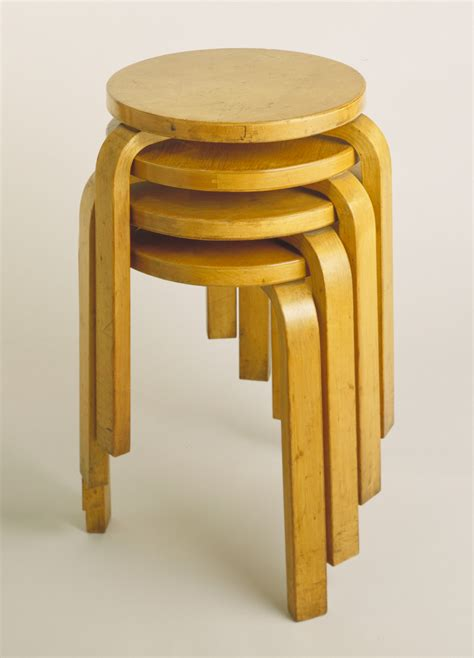 Stacking Stools by Modernism Building Utopia And Albert Museum