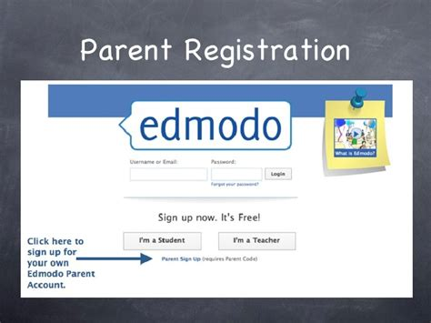 edmodo kid sign up edmodo parent presentation