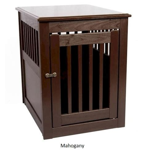 end table pet crate medium wooden crates