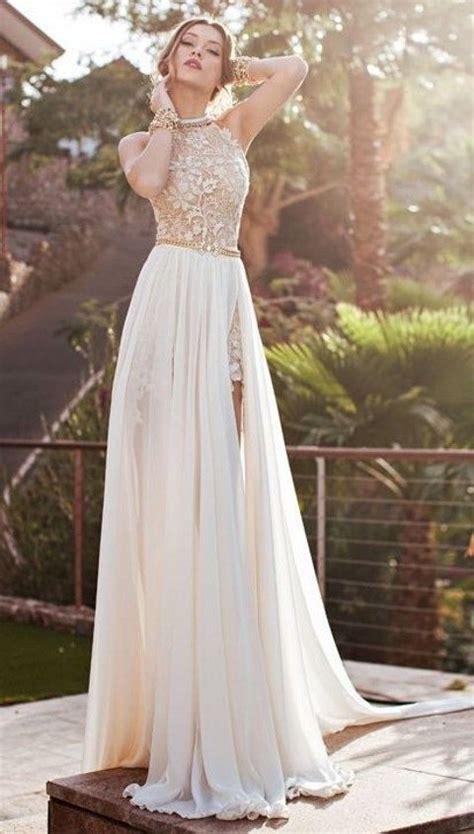 Wedding Dress With Slit by 26 Wedding Dresses With A Slit Happywedd