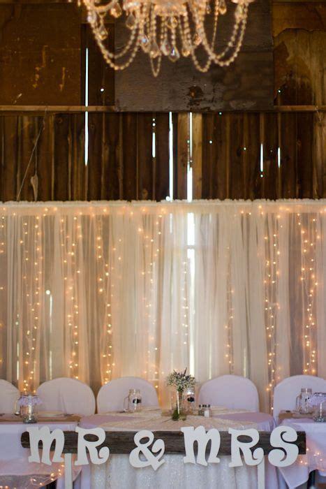 lowell, michigan country barn wedding. head table