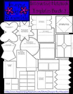 Foldables Templates by Interactive Notebook Foldables Templates Images