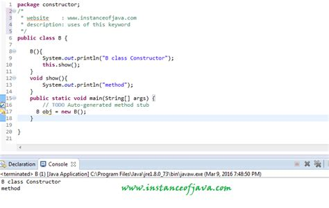 java tutorial this keyword top 10 java interview questions and programs on this
