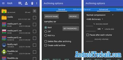 winrar for android apk aplikasi zip terbaik di android untuk unzip rar 7z tar gzip iso img