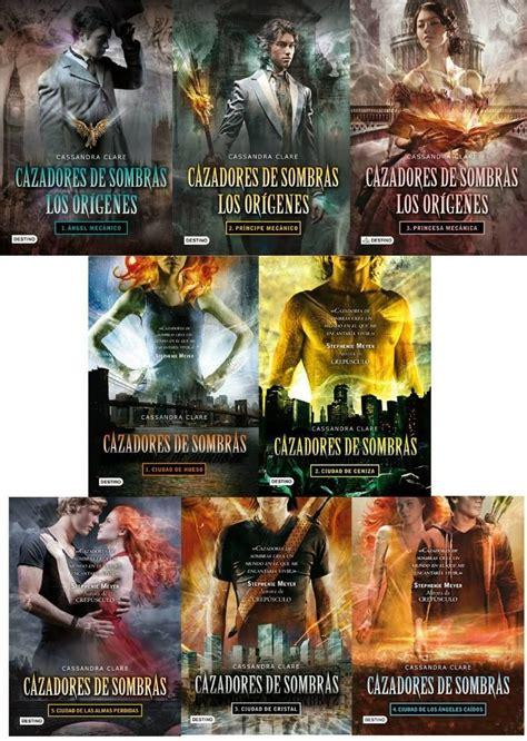 cazadores de sombras los 8408102338 cazadores de sombras 5 libros los origenes 3 libros 10 000 en mercadolibre books