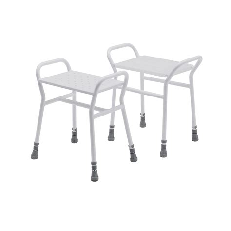Plastic Stools For Showers by 4216p Belmont Adjustable Shower Stool With A Plastic Clip On Seat Roma