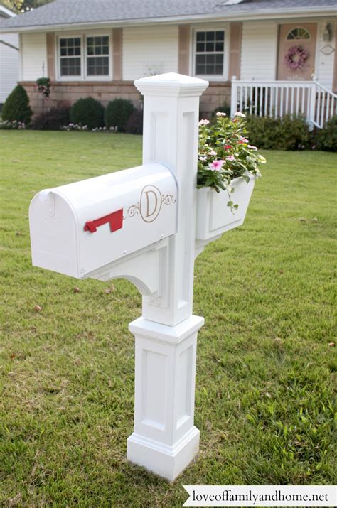 house mailbox quick easy mailbox makeover love of family home