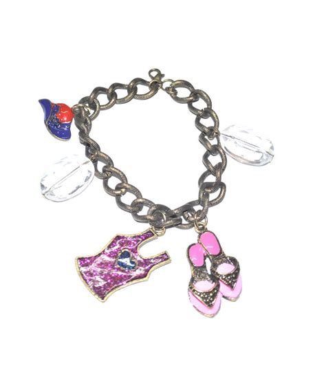 his fabulous girlfriend a bracelet which was also super cute yay paisley bay alloy daily style diva fab girl charm bracelet