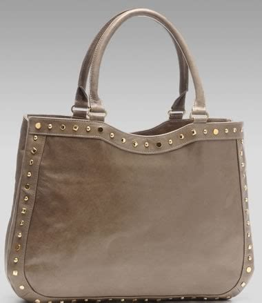 Merkin Large Plum Tote Purses Designer Handbags And Reviews At The Purse Page by Merkin Stud Tote Purseblog