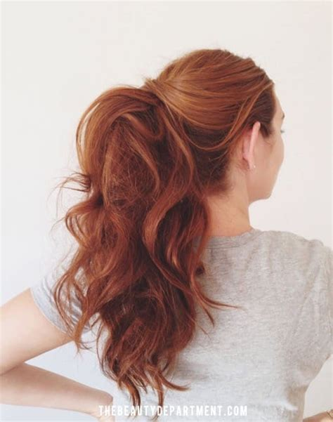 easy hairstyles with ponytails 21 super easy but amazing ponytail hairstyles that will