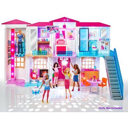 barbie hello dreamhouse play set walmart.com