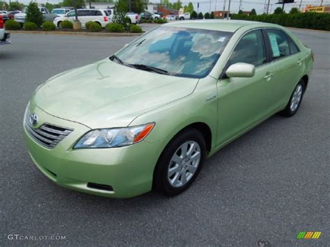 Toyota Camry Green Color Toyota Camry Green Metalic On Used Pictures
