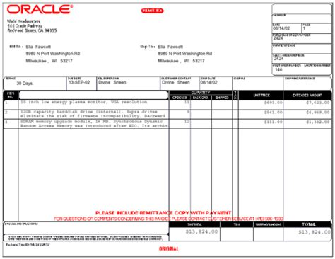 documents invoice template invoice document