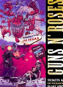 2016 las vegas poster guns n rose outrage over guns n roses promotional poster depicting