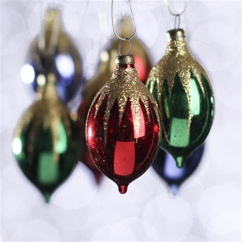 small glass christmas ornaments new items