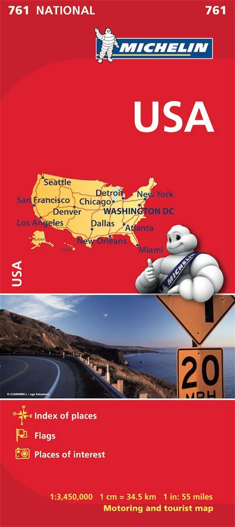 michelin maps usa format map