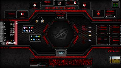 theme windows 10 msi transv2 0 rog theme by teime on deviantart