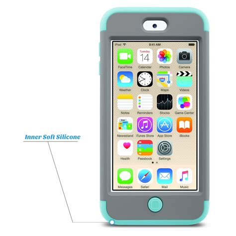 ipod touch 6th generation for apple ipod touch 5 6th generation hybrid protective