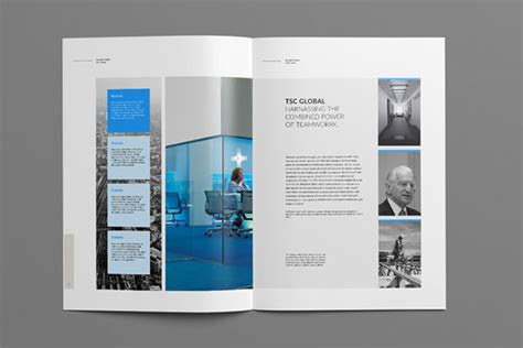 company brochure template 30 fresh simple yet beautiful brochure design ideas