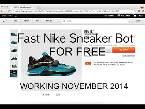 sneaker bot review how to use install nike bot free doovi