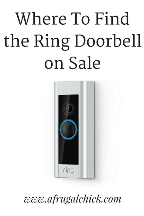 Where To Find Sales Where To Find Ring Doorbell On Sale