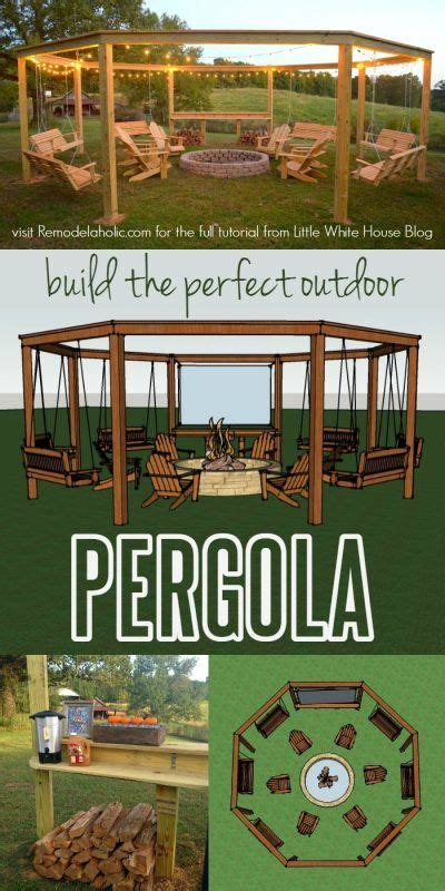 build a l shade diy pergola tutorial how to build your own backyard shade