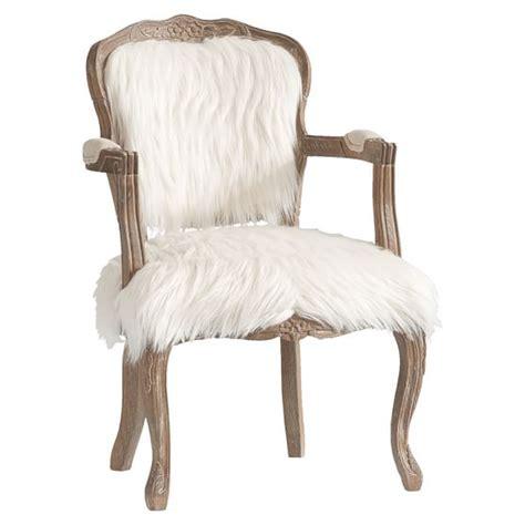Faux Fur Chairs by Ooh La La Faux Fur Chair Pbteen
