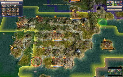 civilization 4 world map civ iv maps
