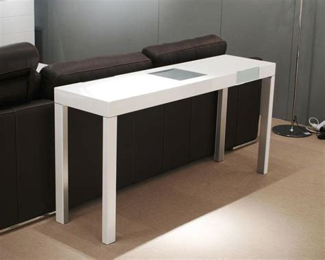 White Console Table Modern The Building Modern