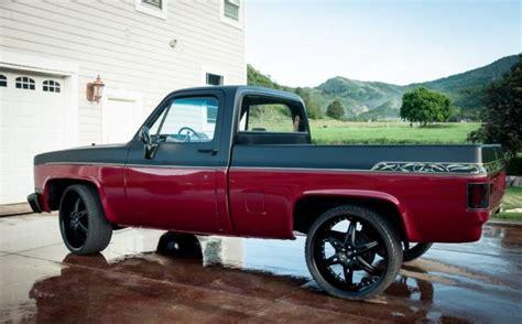 truck bed frame 1984 chevy truck custom c10 bed frame up 350 v8