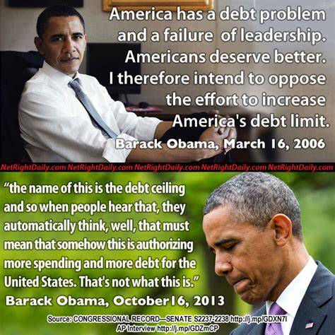 Raising The Debt Ceiling Meaning by Obama S Position On Raising The Debt Ceiling 2006 Vs 2013