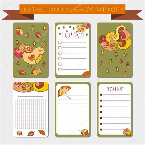 Plantilla Curriculum Vitae Bloc De Notas Notas Para Imprimir Tarjetas De Diario Etiquetas Con Ilustraci 243 N De Oto 241 O Archivo Im 225 Genes
