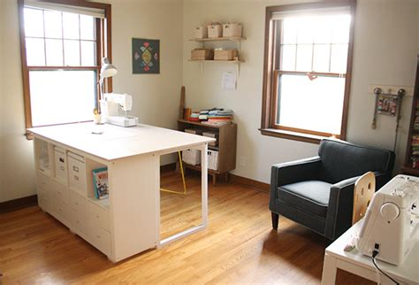 cutting table for sewing room custom diy sewing cutting table noodlehead