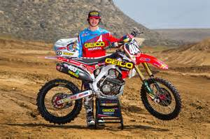 Honda Mx Geico Honda Announces Rider Lineup For Pro Motocross