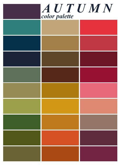 fall color schemes best 25 fall color palette ideas on fall