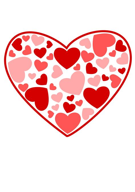 valentines hearts clipart of hearts