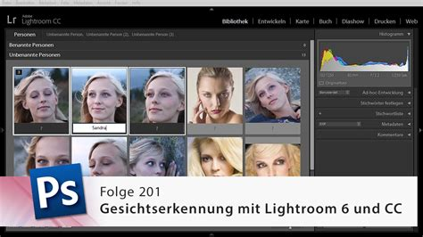 video tutorial lightroom 6 gesichtserkennung in lightroom 6