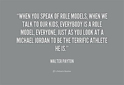 quotes about good role models
