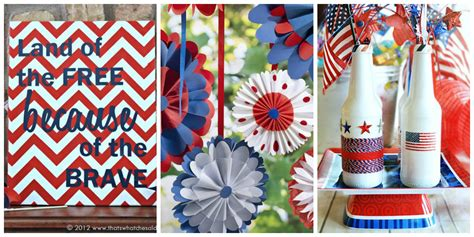 fourth of july decorations 26 easy 4th of july crafts patriotic craft ideas diy