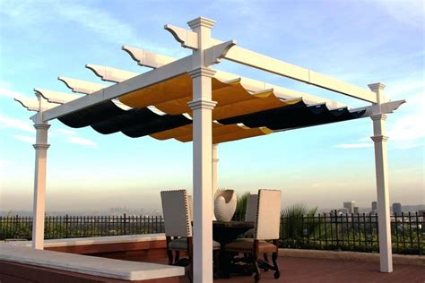 retractable pergola cover idearama co