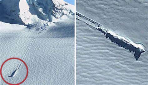 imagenes extrañas de google earth im 225 genes de google earth revelan un ovni estrellado en la