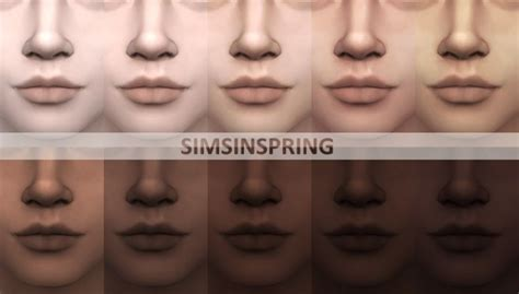 mod the sims sims 4 skins phenomenal cool skintones by simsinspring at mod the sims