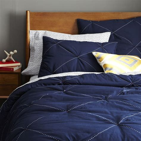 Navy Blue Quilt Bedding Color Trend Indigo A Design Help