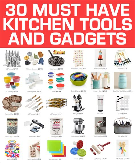 best cooking tools and gadgets 30 awesome kitchen tools and gadgets how to nest for less